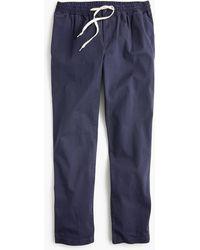 J.Crew - Drawstring Pant In Chino - Lyst