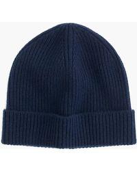 J.Crew Cashmere Hat - Blue