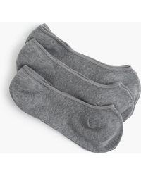 J.Crew - No-show Socks Three-pack - Lyst