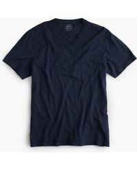 J.Crew - Broken-in V-neck T-shirt - Lyst