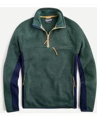 J.Crew Nordic Half-zip Pullover In Polartec® Jumper Fleece - Green