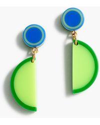 Edie Parker ® X J.crew Resin Lime Wedge Drop Earrings - Multicolor