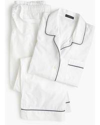 J.Crew - Petite Vintage Pajama Set - Lyst