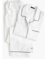 J.Crew Vintage Pajama Set - White