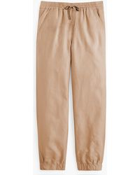 J.Crew - Point Sur Seaside Pant In Linen - Lyst