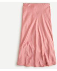 J.Crew Pull-on Slip Skirt - Pink