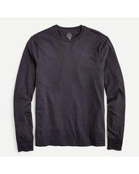 J.Crew Long-sleeve Broken-in T-shirt - Black