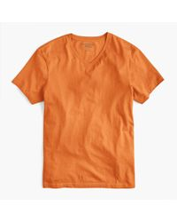 J.Crew - Tall Mercantile Broken-in V-neck T-shirt - Lyst
