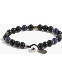 J.Crew - Mikia Bead Bracelet In Rainbow Obsidian - Lyst