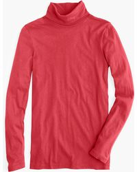 J.Crew - Tissue Turtleneck T-shirt - Lyst