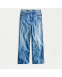 J.Crew Slim Wide-leg Jean In French Blue Wash