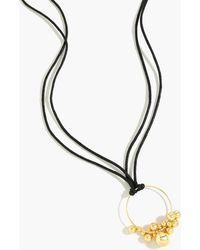 J.Crew - Orbs Pendant Necklace - Lyst