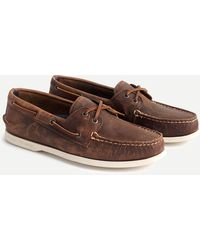 Sperry Top-Sider ® For J.crew Authentic Original 2-eye Broken-in Boat Shoes - Brown