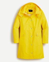 J.Crew Classic Raincoat - Yellow
