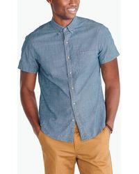 J.Crew - Slim Short-sleeve Flex Chambray Shirt - Lyst