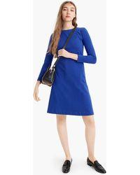 J.Crew - Tall 365 Knit Fit-and-flare Dress - Lyst
