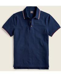 J.Crew - Bowery Egyptian Cotton Pique Polo Shirt - Lyst