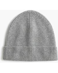 48189f0dae1 J.Crew Donegal Wool Ribbed Beanie in Brown for Men - Lyst