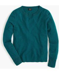 J.Crew Long-sleeve Everyday Cashmere Crewneck Sweater - Multicolor
