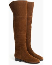 J.Crew Over-the-knee Boots In Suede - Brown
