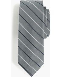 J.Crew - English Silk Tie In Two-color Stripe - Lyst