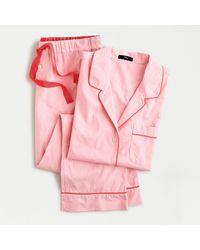 J.Crew Vintage Short-sleeve Pyjama Set - Pink
