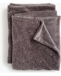 J.Crew - Compono Faux-fur Throw - Lyst
