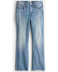 "J.Crew 9"" Demi-boot Crop Jean In Cornflower Wash - Blue"