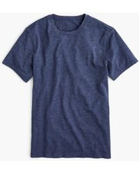 J.Crew - Slim Mercantile Broken-in Heather Crewneck T-shirt - Lyst