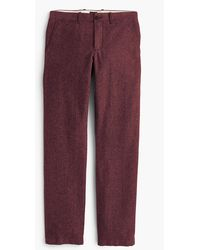 J.Crew - 770 Straight-fit Pant In Stretch Brushed Twill - Lyst