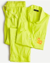 J.Crew Short-sleeve Pyjama Set - Yellow