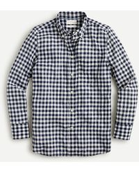 J.Crew - Classic-fit Shirt In Crinkle Gingham - Lyst