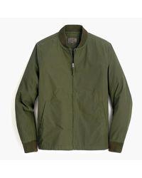 J.Crew Everyday Bomber Jacket - Green