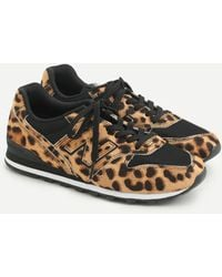 New Balance ® X J.crew 996 Sneakers In Leopard Calf Hair - Multicolor