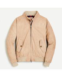 Baracuta - ® G9 Suede Jacket - Lyst