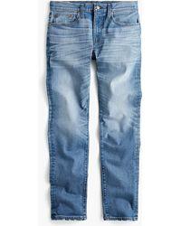 J.Crew - 484 Slim-fit Distressed Stretch Jean In Stockton Wash - Lyst