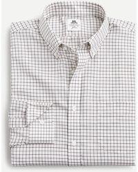 Thomas Mason ® For J.crew Slim-fit Shirt In Twill Check - Blue