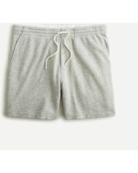 J.Crew Lightweight Sunfaded French Terry Dock Short - Gray