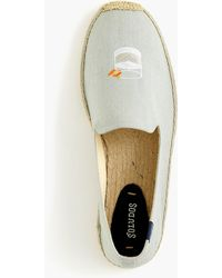 Soludos - Mezcal Smoking Slipper In Canvas - Lyst