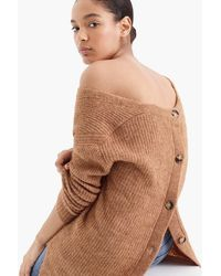 J.Crew Point Sur Open-back Sweater - Brown