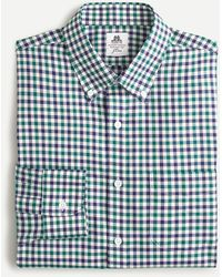 Thomas Mason ® For J.crew Slim-fit Shirt In Check - Blue