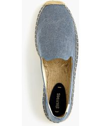 Soludos - Canvas Smoking Slipper In Canvas - Lyst