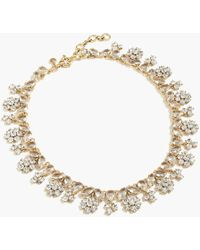 J.Crew - Forget-me-not Crystal Necklace - Lyst