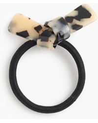 J.Crew - Hair Elastic With Faux Tortoise Bow - Lyst
