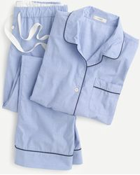 J.Crew Vintage Pajama Set - Blue