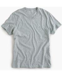 J.Crew - Mercantile Broken-in V-neck T-shirt In Heather Grey - Lyst