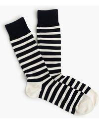 J.Crew - Striped Socks - Lyst