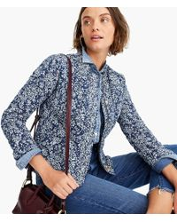 J.Crew - Point Sur Quilted Lady Jacket - Lyst