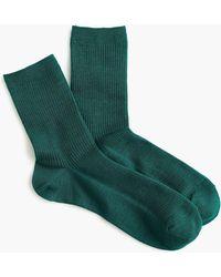 J.Crew - Ribbed Bootie Socks - Lyst