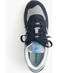 New Balance - X J.crew 574 Sneakers In Deep Blue - Lyst